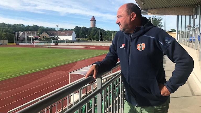 Micke Waktell, tränare FC Gute
