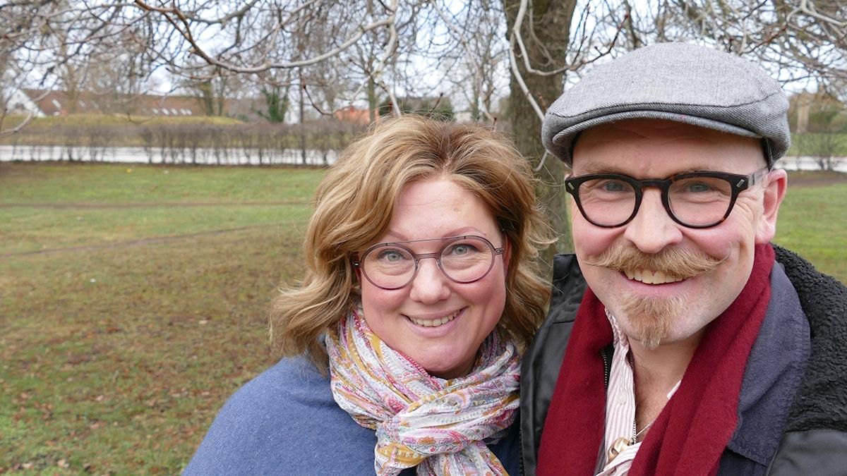 Mimmi Gibson och Tomas Lindström