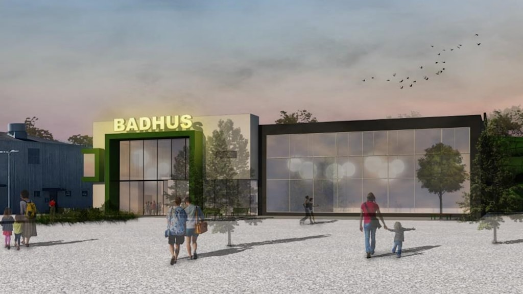 Ett nytt badhus i Visby föreslås av konsulter att byggas på Visborg.