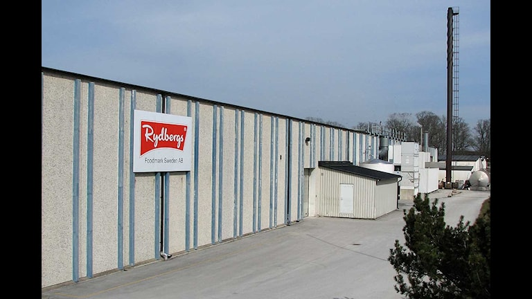 Foodmarks fabrik i Klinte. Foto: Helen Birch/SR Gotland