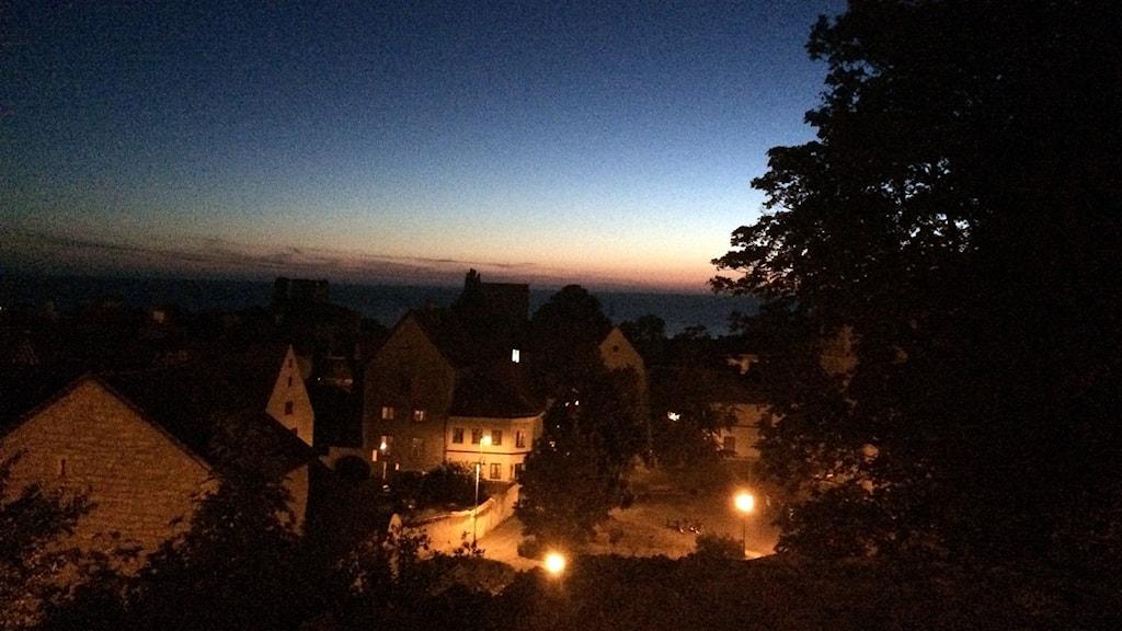 INnerstan sent på kvällen. Foto: Jonas Neuman/Sveriges Radio