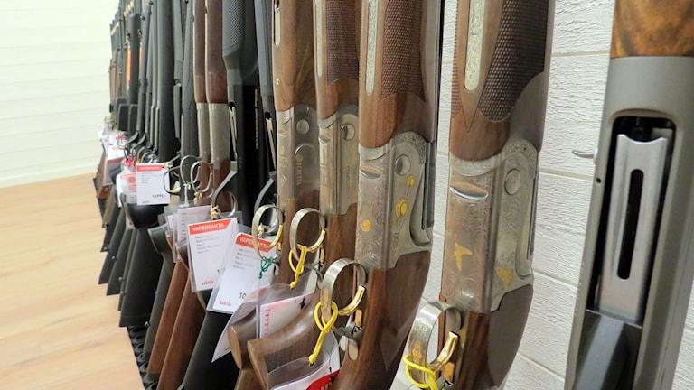 Vapen i butik