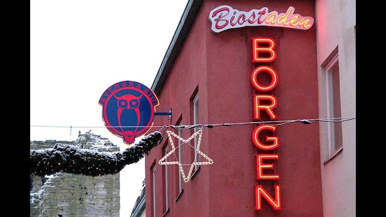 Biostaden Borgen i Visby. Foto: Henrik Wallenius/SR Gotland