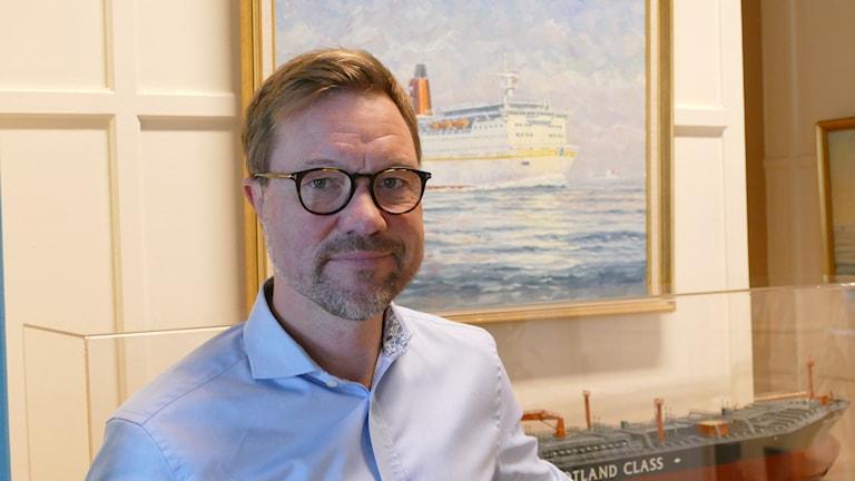 Håkan Johansson vd Gotlandsbolaget