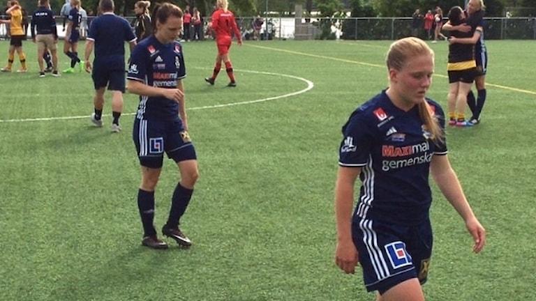 Pauline Mårtensson och Ebba Ronqvist i P18.