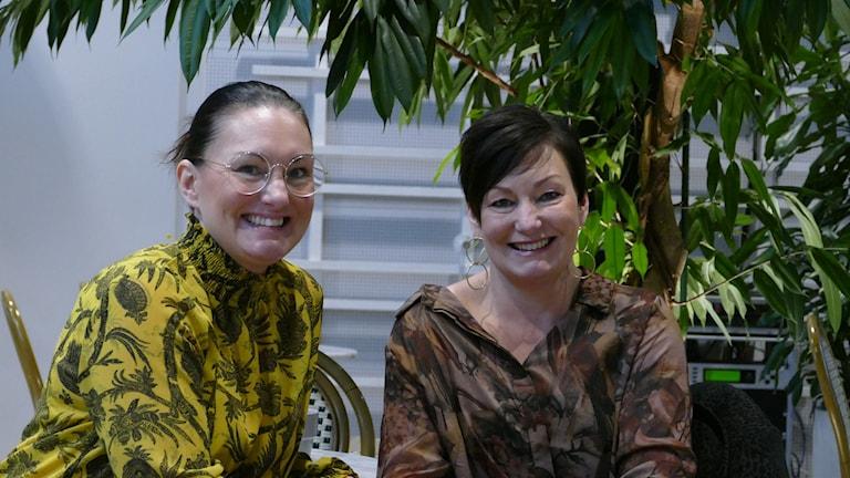 Carina och Charlotte Österholm