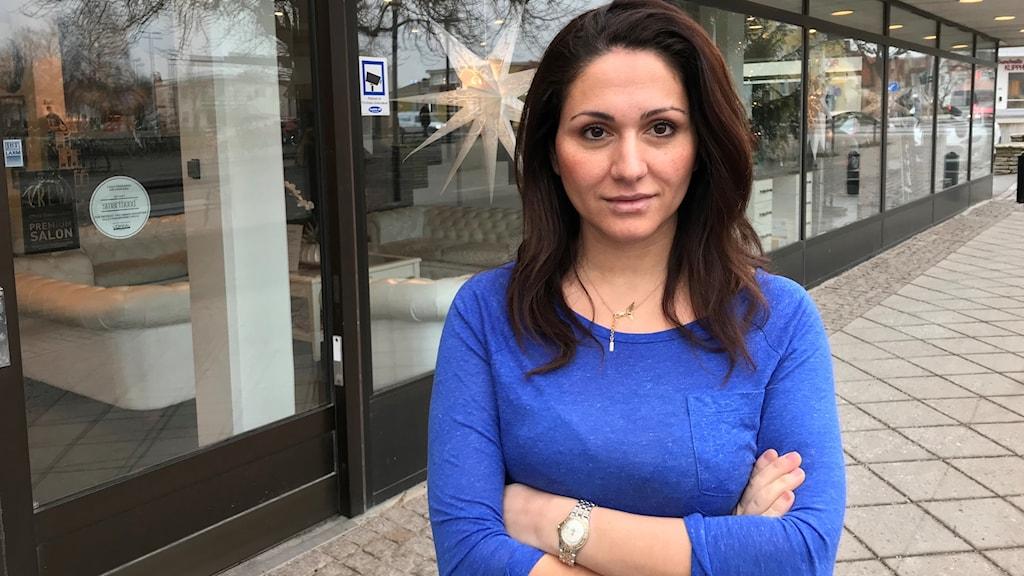 Nancy Yussef är företagare och ordförande för företagarna på Gotland.