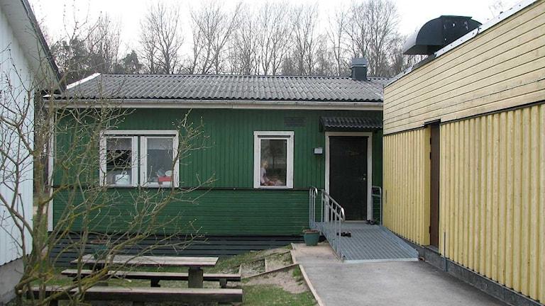 Skolan i Eskelhem. Foto: Karin Brindt/SR Gotland