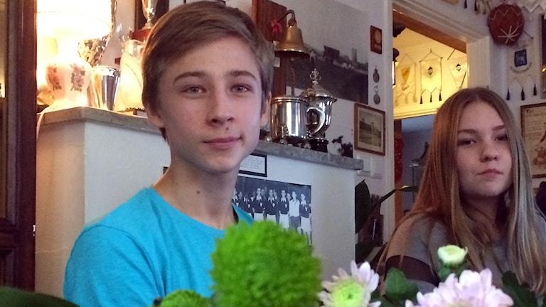 Max Hedbom och Amanda Glansholm