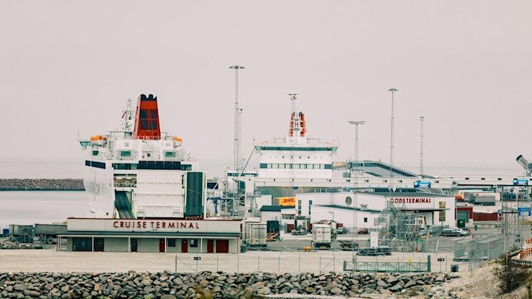 Destination Gotland, Visby hamn, Cruise terminal, Hamnterminal