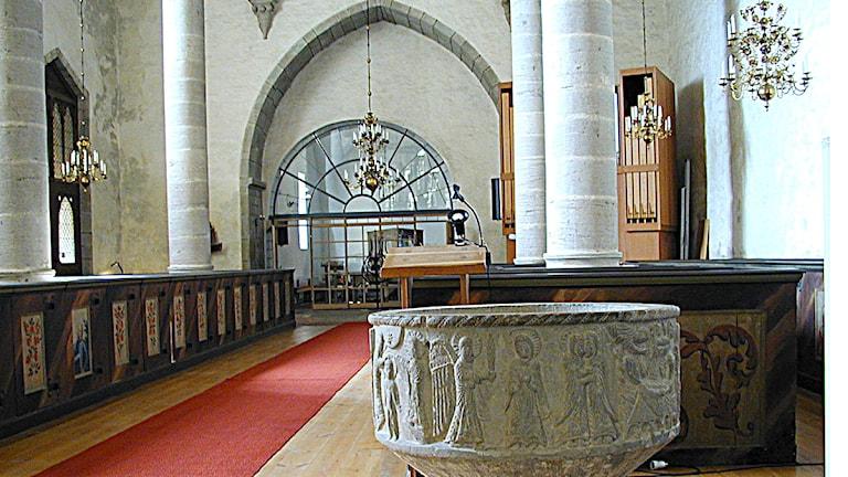 Grötlingbo kyrka. Foto: SR Gotland