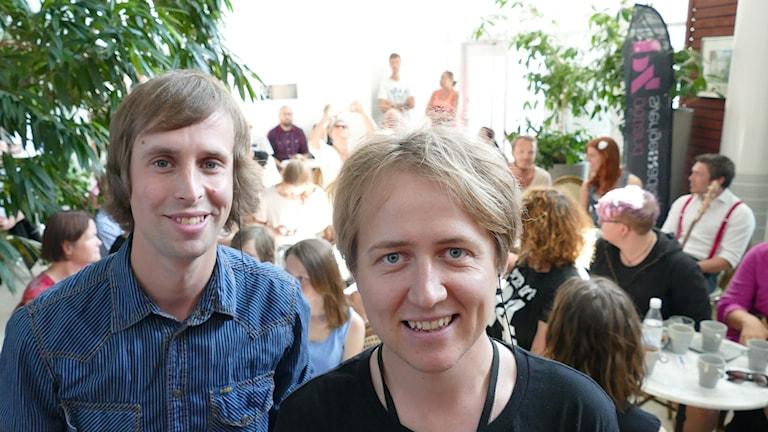 Jakob Larsson och Johannes Hallbom