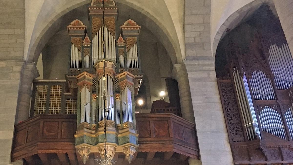 1599 års orgel i Visby domkyrka