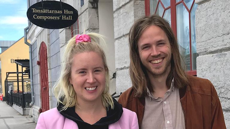 Stina Tordby och Joel Janson Johansen