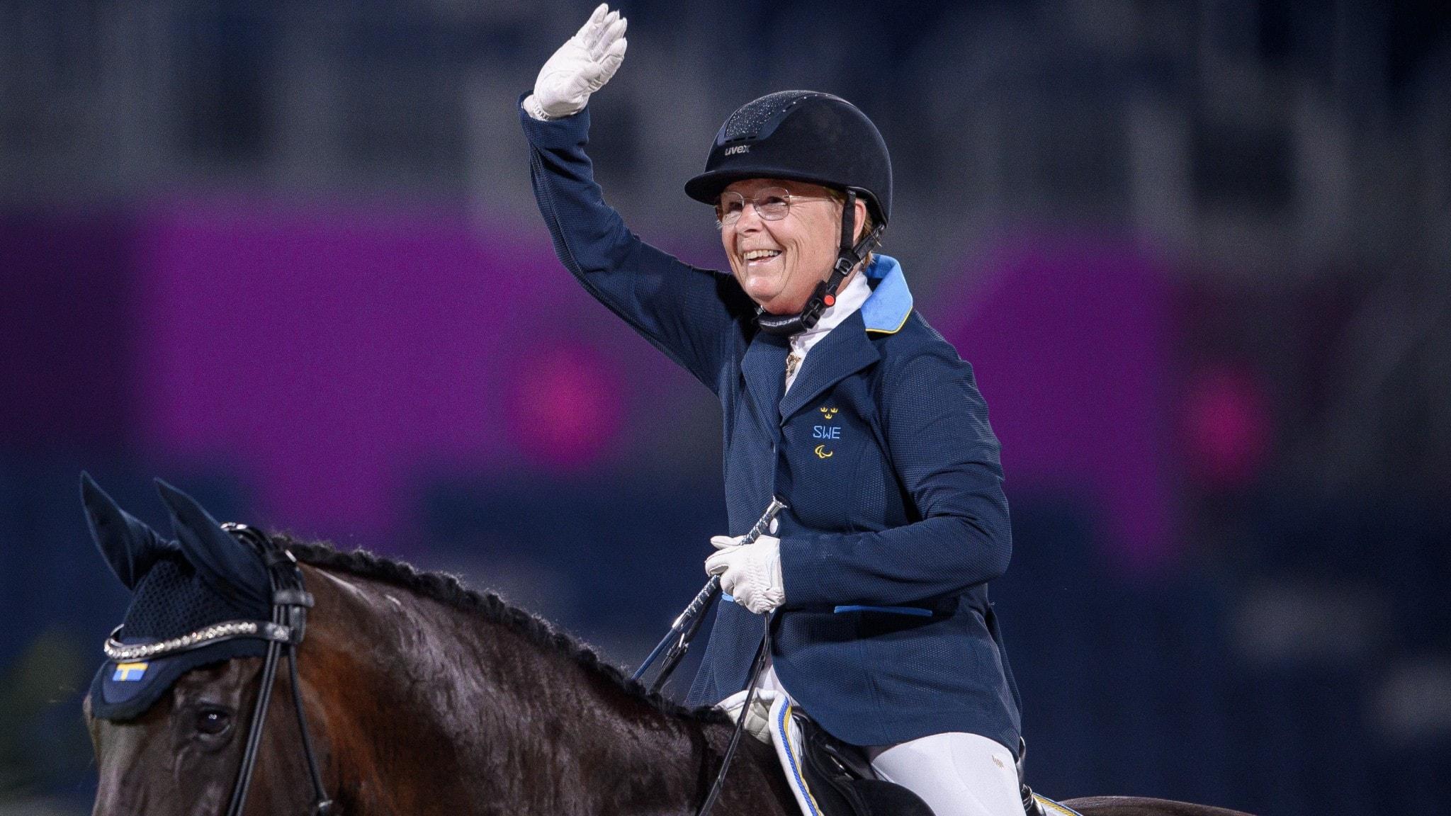 Louise Etzner Jakobsson tog silver i Tokyo