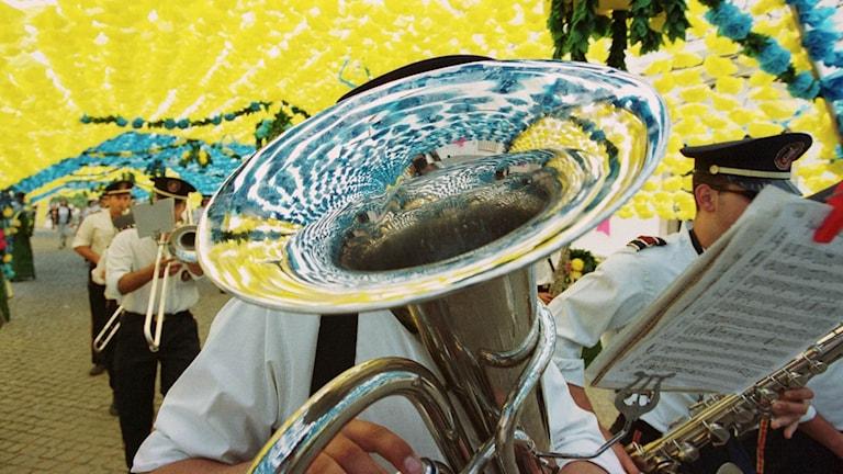 Bastuba blåsorkester
