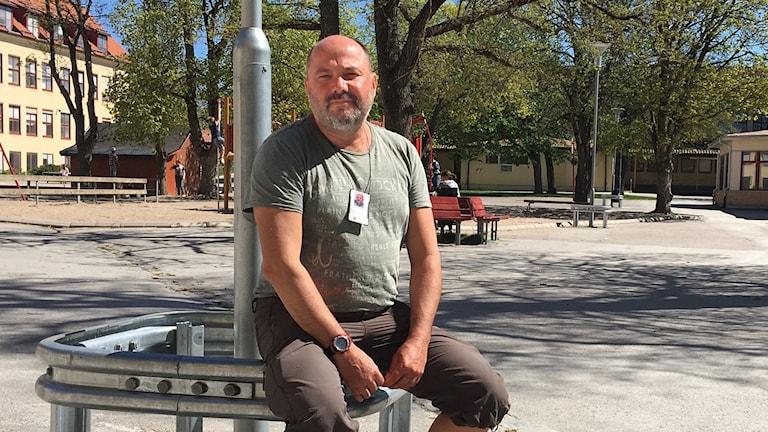 Mikael Waktel, ny tränare i FC Gute
