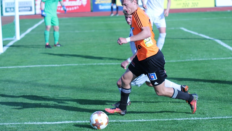 Villiam Dahlström, FC Gute. Arkivbild. Foto: Magnus Tingström/P4 Gotland