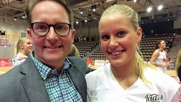 Johan Palmqvist och Johanna Petersson
