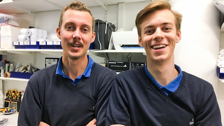 Mattias Henningsson och Emil Lundberg