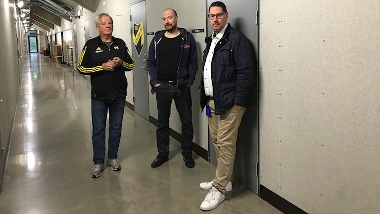 "Harald Hoffman, Endre, Anders "" Leo"" Pettersson, Ladies och Joakim Bandholtz Visby IBK"