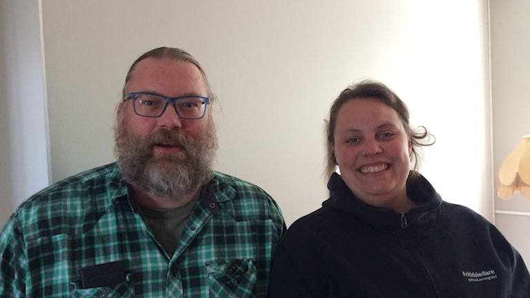 Anders Holstensson och Josefine Wahlqvist