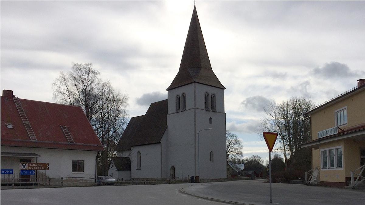 Kyrkbyn i Etelhem