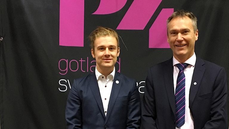 Jesper Skalberg Karlsson och Lars Thomsson