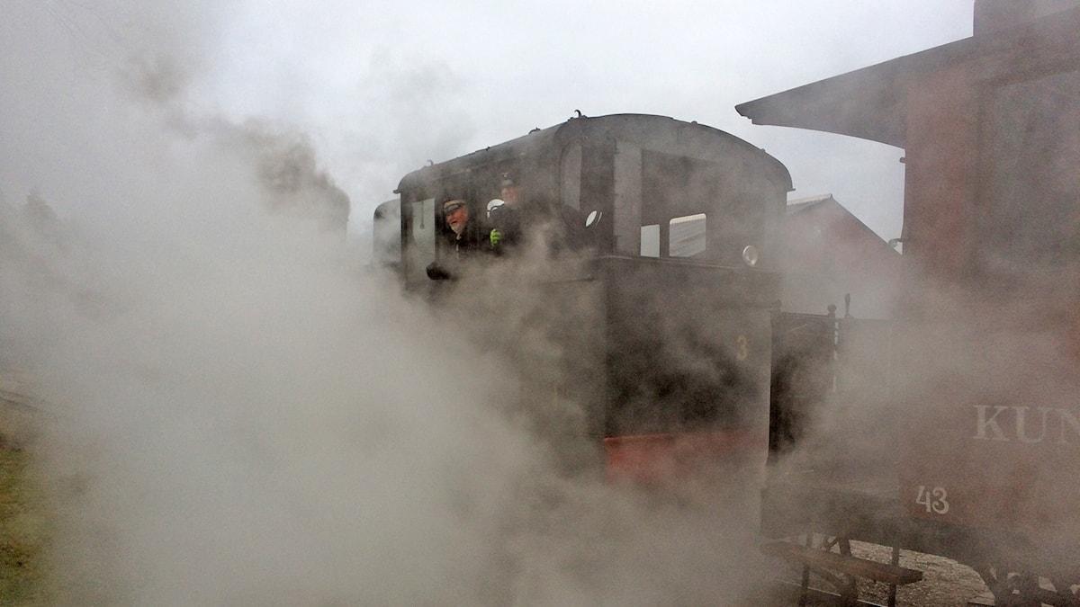 Gotlandståget tomtetåget