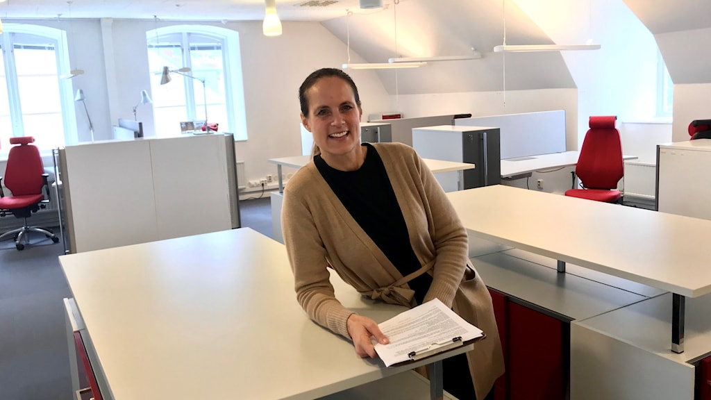 Jenny Helin, koordinator för forskarskolan Campus Gotland.