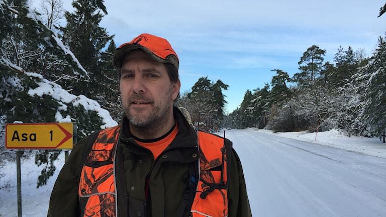 Johan Thomsson orförande Jägarförbundet Gotland