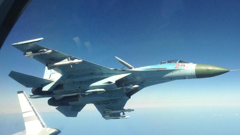 Ryskt stridsflyg