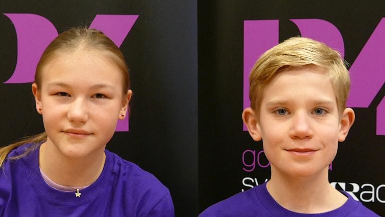 Solbergaskolan sol: Cornelia Lundgren och Lukas Rosberg