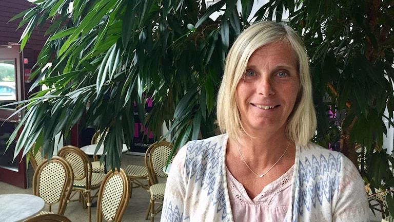 Anneli Blixt, team leader under Island Games, känd idrottsprofil på Gotland och Island Gamesveteran.
