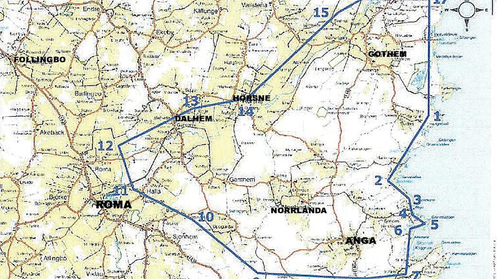 Karta över området där Draupner Energy vill undersöka om det finns olja.