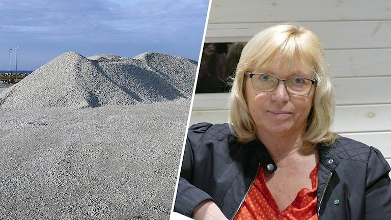 Eva Nypelius om SMA Minerals fortsatta brytning i Klintehamn,