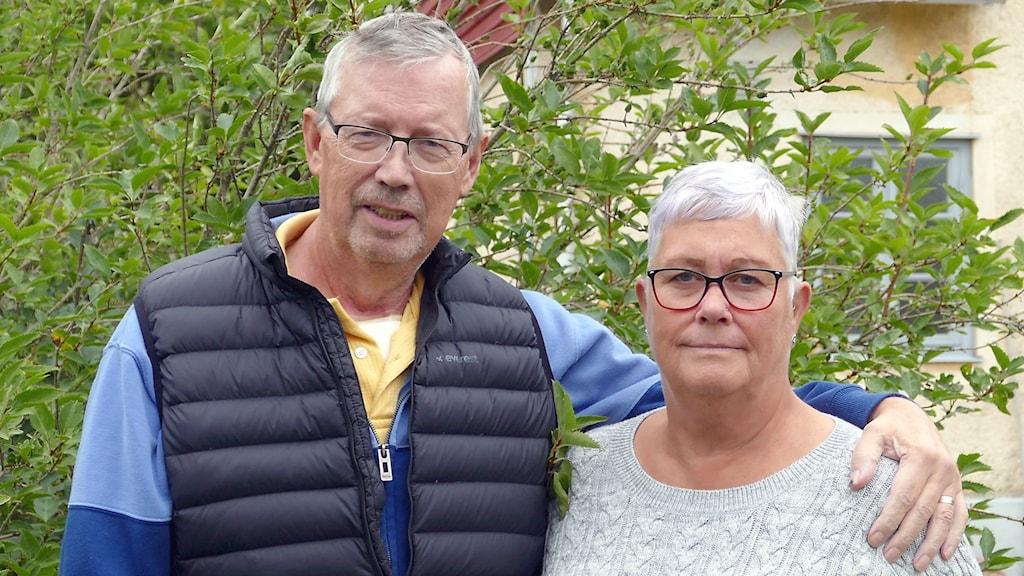 Totte Bogren och Anne Rondahl Bogren