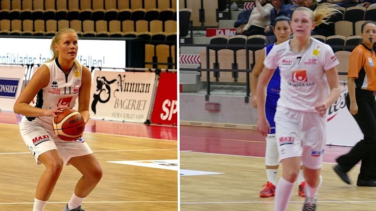 Elin SJöberg Johanna Petersson väljer att sluta i Visby Ladies.