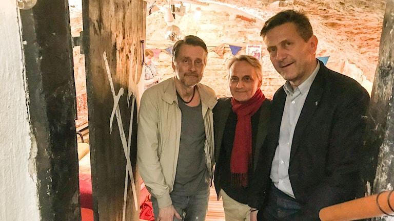 Thomas Sundström, Bo Wannefors, Dag Franzen
