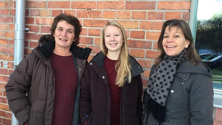 Anne Dungner Hjellström, Sgne Hjellström och Maria Wessman Klintberg medverkar i Körförbundets konsert.