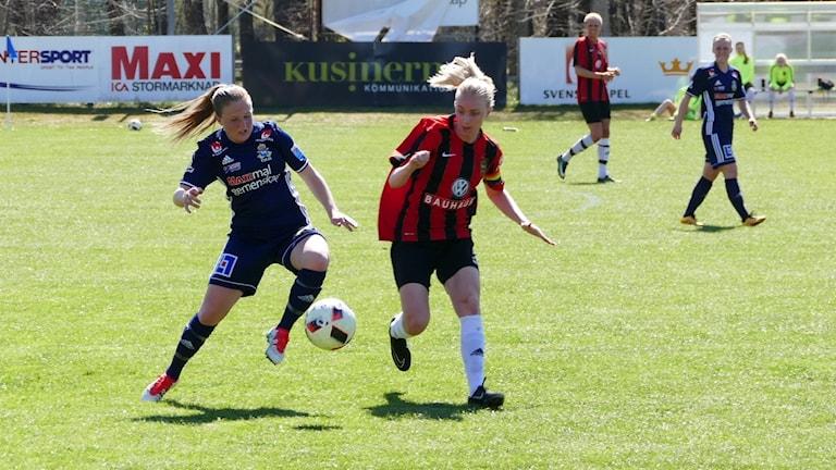 Ebba Ronqvist och P18 förlorade hemma mot  IF Brommapojkarna