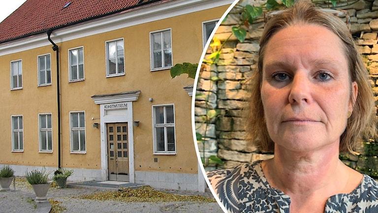 Susanne Thedéen, museichef för Gotlands konstmuseum.