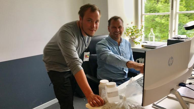 Mattias Andersson och Robban Segerdahl på konsultföretaget Sweco.