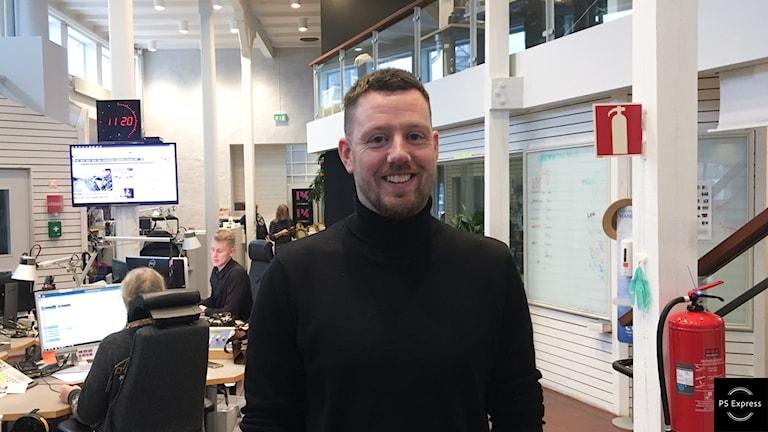 Erik Bäckström, projektledare