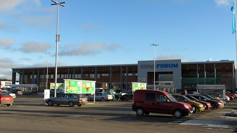 Nya Coop Forum i Visby. Foto: Jonas Neuman/Sveriges Radio