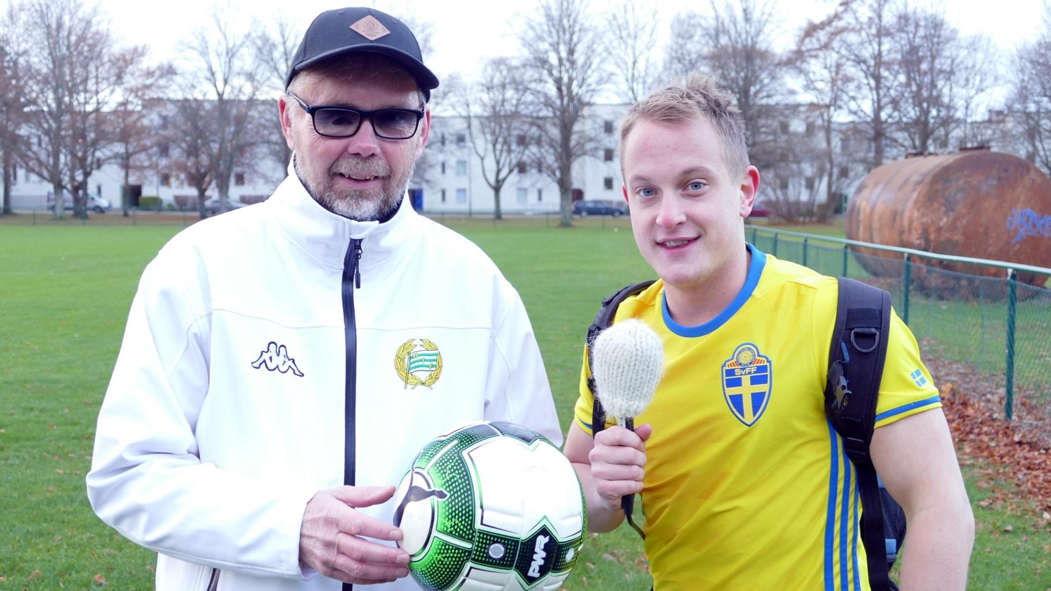 Janne Sandberg och Hugo Wennström