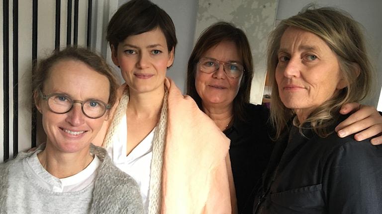 Karin Kloth, Anna Josefin hagberg, Katarina Söderdahl, Barbro Lomakka