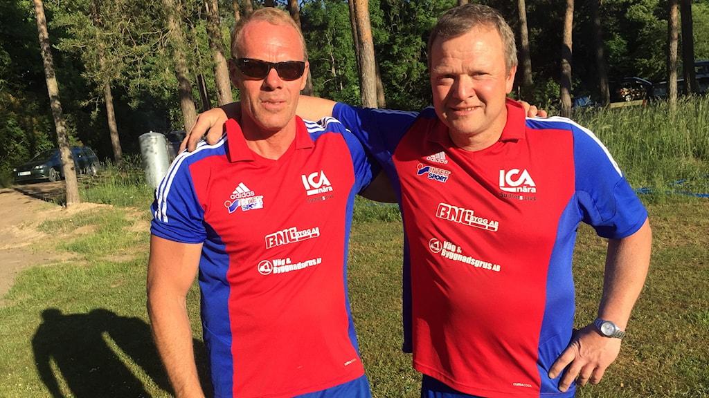 Berne Appelqvist och Ola Nilsson Hablingbo