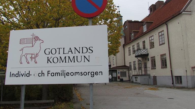 Individ- och familjeomsorgen i Visby. Foto: Johan Hellström/Sveriges Radio