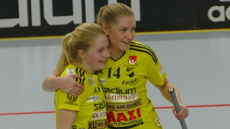 Moa Svanström och Alva Olofsson Endre IF.